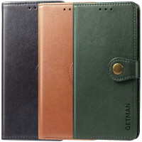 Кожаный чехол книжка GETMAN Gallant (PU) для Xiaomi Redmi Note 9 Pro 5G