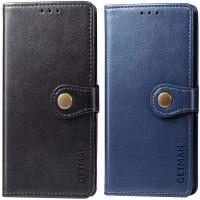 Кожаный чехол книжка GETMAN Gallant (PU) для Xiaomi Poco X3 NFC / Poco X3 Pro