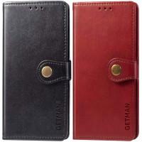 Кожаный чехол книжка GETMAN Gallant (PU) для Xiaomi Redmi Note 10 / Note 10s