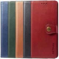 Кожаный чехол книжка GETMAN Gallant (PU) для Xiaomi Redmi Note 10 5G / Poco M3 Pro