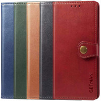 Кожаный чехол книжка GETMAN Gallant (PU) для Xiaomi Redmi Note 10 Pro