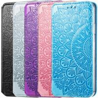 Кожаный чехол книжка GETMAN Mandala (PU) для Samsung Galaxy A30s