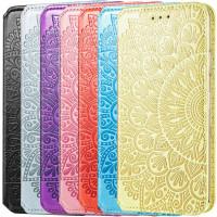 Кожаный чехол книжка GETMAN Mandala (PU) для Samsung Galaxy A72 4G / A72 5G