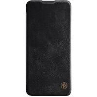 Кожаный чехол (книжка) Nillkin Qin Series для OnePlus 9R