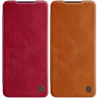 Кожаный чехол (книжка) Nillkin Qin Series для Samsung Galaxy A22 4G / M32