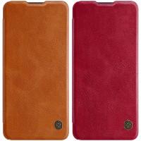 Кожаный чехол (книжка) Nillkin Qin Series для Samsung Galaxy A72 4G / A72 5G
