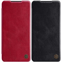 Кожаный чехол (книжка) Nillkin Qin Series для Samsung Galaxy S21