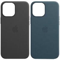 "Кожаный чехол Leather Case (AAA) для Apple iPhone 11 Pro Max (6.5"")"