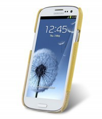 Кожаная накладка Melkco Mix and Match для Samsung i9300 Galaxy S3 Yellow LC/ Khaki LC в магазине itsell.ua