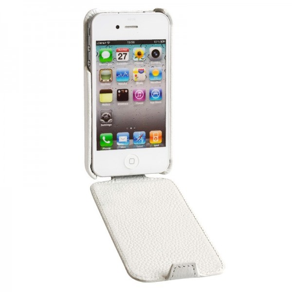 Фото Кожаный чехол Issentiel Prestige Ultra Slim Collection для Apple Iphone 4/4s на itsell.ua