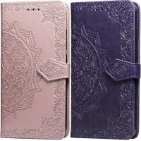 Кожаный чехол (книжка) Art Case с визитницей для Huawei Nova 3i