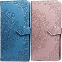 Шкіряний чохол (книжка) Art Case з візитницею для Meizu M6 Note