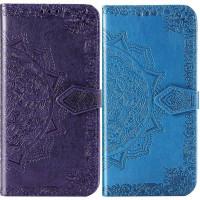 Кожаный чехол (книжка) Art Case с визитницей для Samsung Galaxy A70 (A705F)
