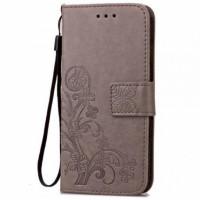 Шкіряний чохол (книжка) Four-leaf Clover з візитницею для Samsung Galaxy A5 (2016) (A510F)