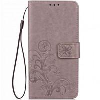 Кожаный чехол (книжка) Four-leaf Clover с визитницей для Xiaomi Redmi Note 5A Prime / Redmi Y1