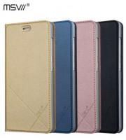 Купить Кожаный чехол-книжка Msvii для Xiaomi Redmi 3 Pro / Redmi 3s с функцией подставки