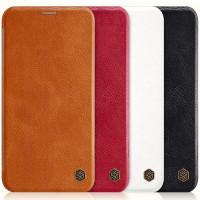 "Кожаный чехол (книжка) Nillkin Qin Series для Apple iPhone 11 (6.1"")"