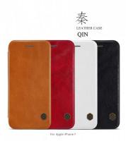 "Кожаный чехол (книжка) Nillkin Qin Series для Apple iPhone 8 (4.7"")"