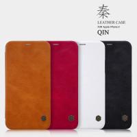 """Кожаный чехол (книжка) Nillkin Qin Series для Apple iPhone X (5.8"""") / XS (5.8"""")"""