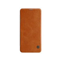 Шкіряний чохол (книжка) Nillkin Qin Series для Huawei Honor Note 10