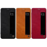 Кожаный чехол (книжка) Nillkin Qin Series для Huawei P20 Pro