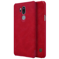 Кожаный чехол (книжка) Nillkin Qin Series для LG G7+ / LG G7 ThinQ