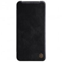 Кожаный чехол (книжка) Nillkin Qin Series для OnePlus 7