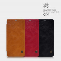 Шкіряний чохол (книжка) Nillkin Qin Series для Samsung Galaxy A8+ (2018) (A730)