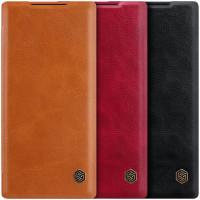 Кожаный чехол (книжка) Nillkin Qin Series для Samsung Galaxy Note 10