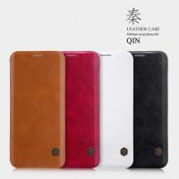 Кожаный чехол (книжка) Nillkin Qin Series для Samsung Galaxy S9+