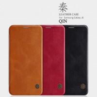 Купить Кожаный чехол (книжка) Nillkin Qin Series для Samsung Galaxy J6 (2018) (J600F)