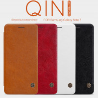 Шкіряний чохол (книжка) Nillkin Qin Series для Samsung Galaxy Note Fan Edition (N935)