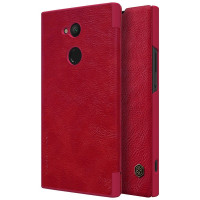 Кожаный чехол (книжка) Nillkin Qin Series для Sony Xperia XA2 Ultra
