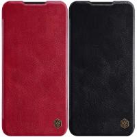 Кожаный чехол (книжка) Nillkin Qin Series для Xiaomi Mi A3
