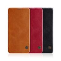 Кожаный чехол (книжка) Nillkin Qin Series для Xiaomi Pocophone F2