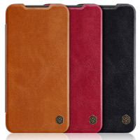 Кожаный чехол (книжка) Nillkin Qin Series для Xiaomi Redmi 7