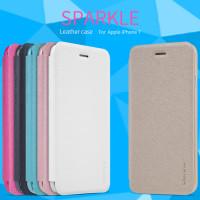 Шкіряний чохол (книжка) Nillkin Sparkle Series для Apple iPhone 7 (4.7'')