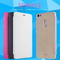 Шкіряний чохол (книжка) Nillkin Sparkle Series для Asus Zenfone 3 Ultra (ZU680KL)