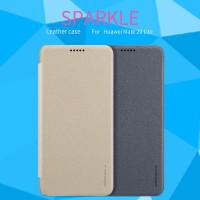 Кожаный чехол (книжка) Nillkin Sparkle Series для Huawei Mate 20 lite