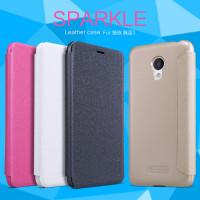 Кожаный чехол (книжка) Nillkin Sparkle Series для Meizu M3 / M3 mini / M3s
