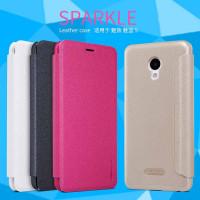 Кожаный чехол (книжка) Nillkin Sparkle Series для Meizu M5