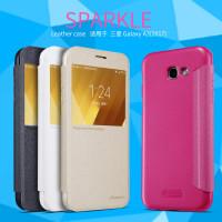 Шкіряний чохол (книжка) Nillkin Sparkle Series для Samsung Galaxy A3 (2017) (A320)