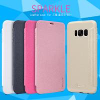 Шкіряний чохол (книжка) Nillkin Sparkle Series для Samsung Galaxy S8 Plus (G955)