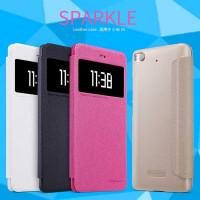 Купить Кожаный чехол (книжка) Nillkin Sparkle Series для Xiaomi Mi 5s