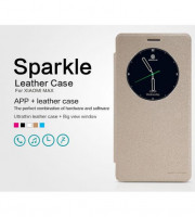 Кожаный чехол (книжка) Nillkin Sparkle Series для Xiaomi Mi Max