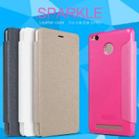 Купить Кожаный чехол (книжка) Nillkin Sparkle Series для Xiaomi Redmi 3 Pro / Redmi 3s