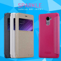 Шкіряний чохол (книжка) Nillkin Sparkle Series для Xiaomi Redmi 4