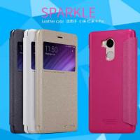 Кожаный чехол (книжка) Nillkin Sparkle Series для Xiaomi Redmi 4 Pro / Redmi 4 Prime