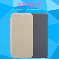 Кожаный чехол (книжка) Nillkin Sparkle Series для Xiaomi Mi A2 Lite