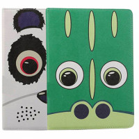 """Кожаный чехол-книжка TTX Funny Zoo с подставкой  для Apple iPad 9,7"""" (2018)"""